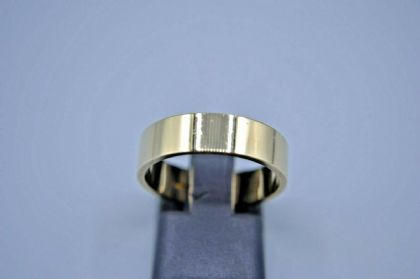 9ct 7 mm Flat Wedding Ring